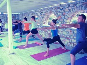 yoga Grèce