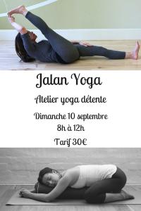 Atelier yoga jalan Yoga mimizan