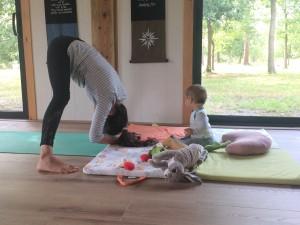 Yoga maman et bébé landes