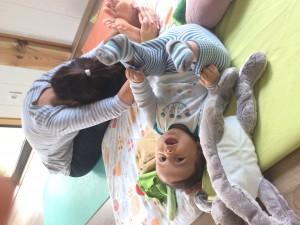 Yoga maman et enfant mimizan